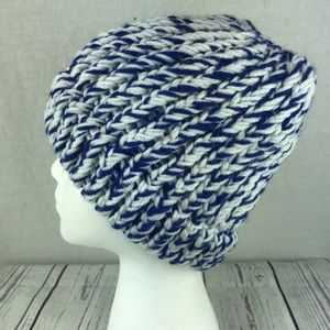 Accessories - Women's homemade knit winter hat w/ ponytail hole